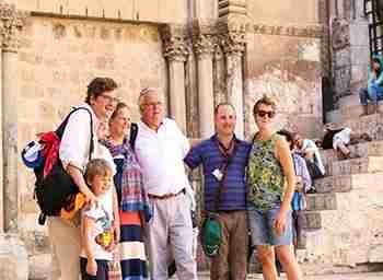 Family trip to Jerusalem