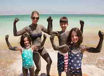Family Trip to Israel – The Dead Sea