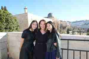 Family trips to Israel