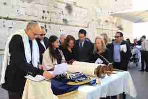 Bat Mitzvah Tour in the western wall