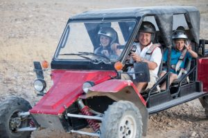 jeeping at a bar mitzvah trip in israel