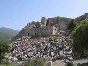 Nimrods Castle - family trip to Israel
