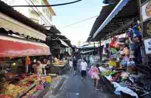 Carmel Market - day tours in Israel