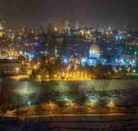 Experiencing Jerusalem Night Life