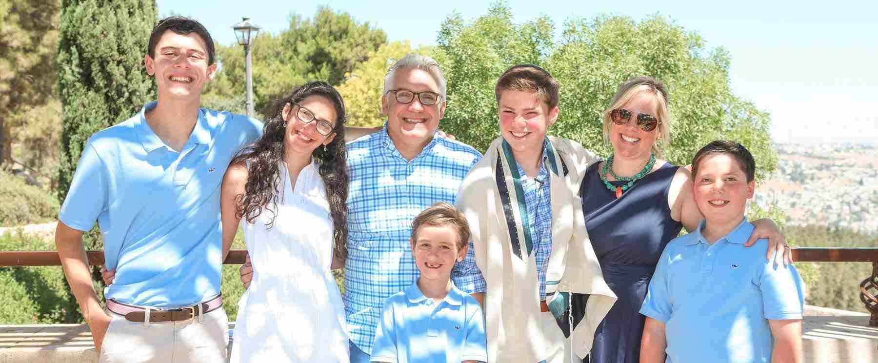 bar mitzvah tours at the holy land