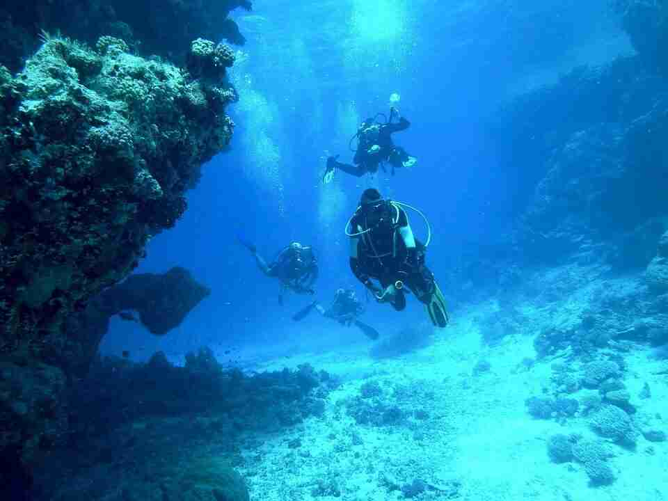 Diving in Israel