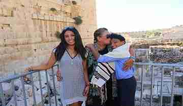 bar mitzvah tour israel