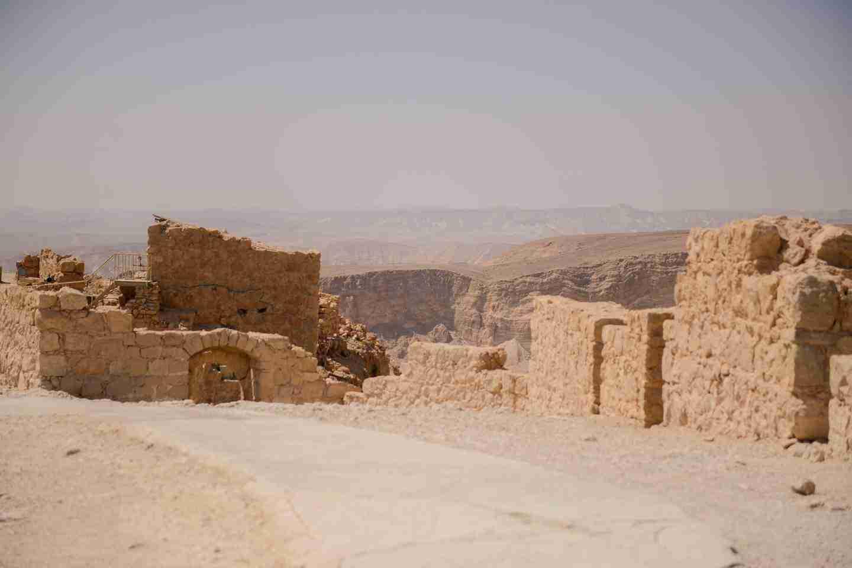 Family trip to Israel sample itinerary: Masada fortress